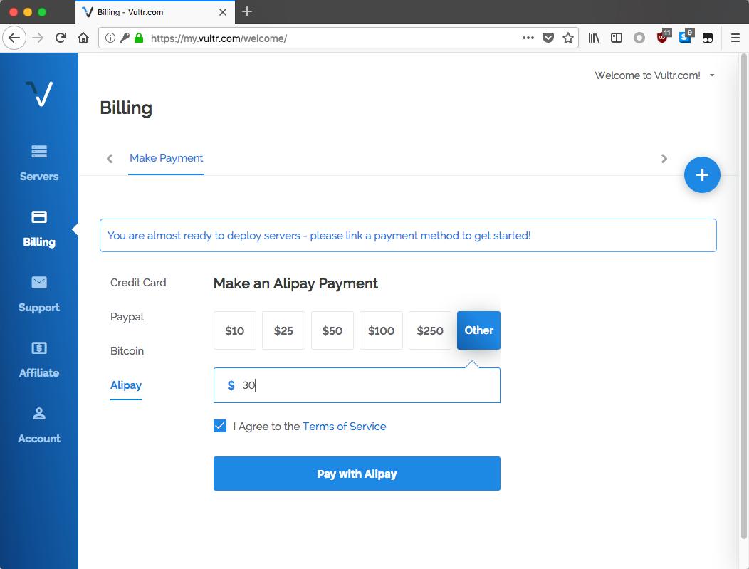 vultr-regiter-buy-alipay-link-payment-add-fund