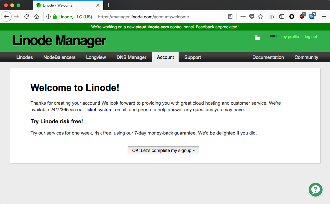 linode-register-buy-guide-welcome-tolinode